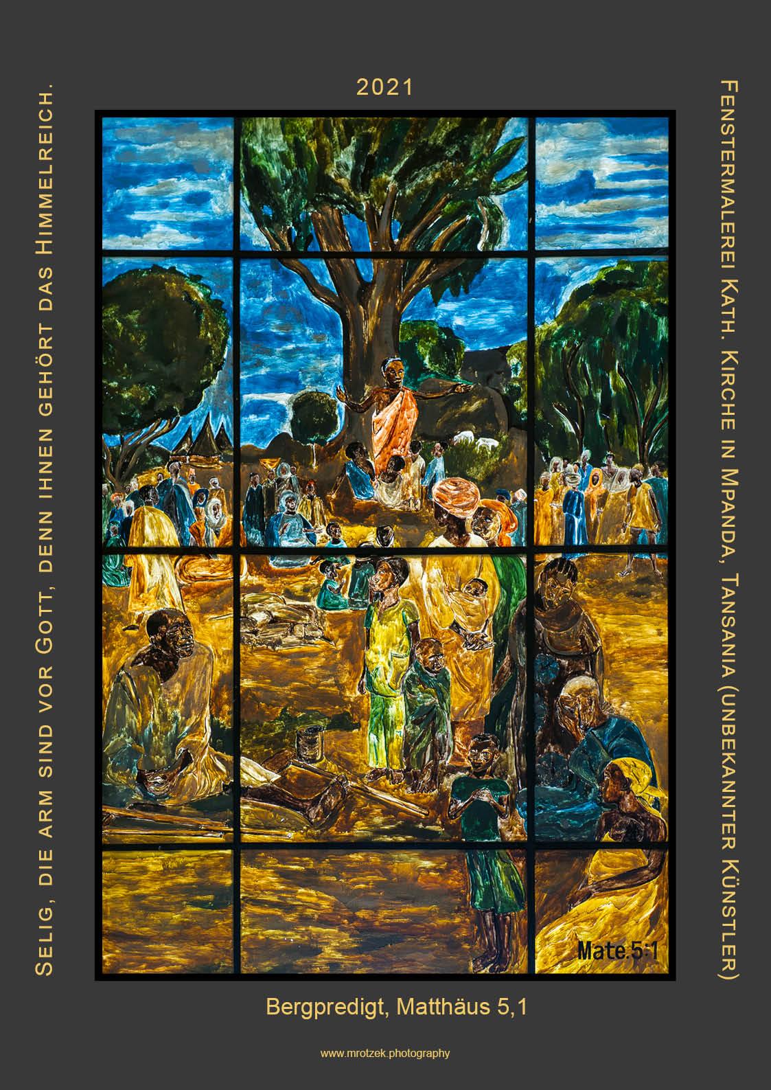 Fenstermalerei Mpanda, TZ 2021